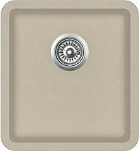 Hommoo Granite Kitchen Sink Single Basin Beige