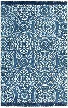 Hommoo Kilim Rug Cotton 160x230 cm with Pattern