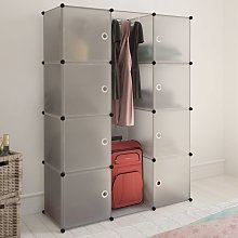 Hommoo Modular Cabinet with 9 Compartments