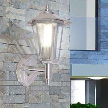 Hommoo Outdoor Uplight Wall Lantern Stainless