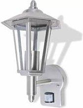 Hommoo Outdoor Uplight Wall Lantern with Sensor