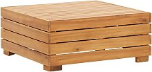 Hommoo Sectional Table 1 pc Solid Acacia Wood