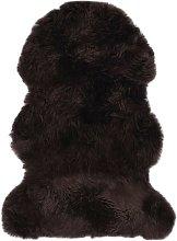 Hommoo Sheepskin Rug 60x90 cm Brown VD24521