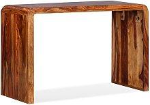 Hommoo Sideboard/Desk Solid Sheesham Wood Brown