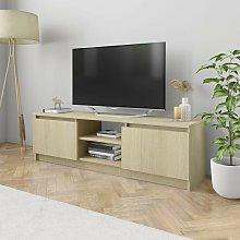 Hommoo TV Cabinet Sonoma Oak 120x30x35.5 cm