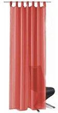 Hommoo Voile Curtains 2 pcs 140x175 cm Red QAH01457