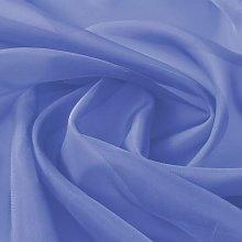 Hommoo Voile Fabric 1.45x20 m Royal Blue QAH01465