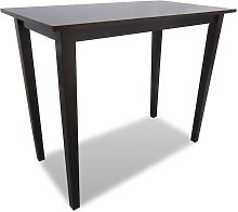 Hommoo Wooden Bar Table Brown VD08930