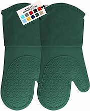 HOMWE Silicone Oven Mitt, Oven Mitts with Quilted