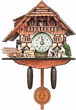 Homyl Creative Cuckoo Clock Carved