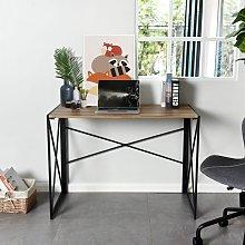 Homylin - Folding Computer Desk, No-Assembly