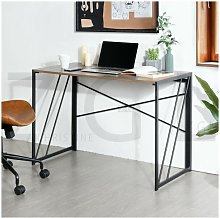 Homylin - Study Desk Modern Folding Computer Desk