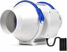 Hon&Guan 100mm Inline Duct Extractor Fan for