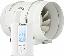 Hon&Guan 8'' Extractor Inline Duct Fan