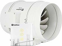 Hon&Guan Silent Mixed Flow Extractor Fan 200mm