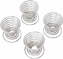 Honbay 4PCS Stainless Steel Spring Wire Tray Egg