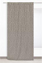Honea Pencil Pleat Room Darkening Curtain Mercury