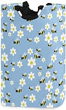 Honey Bees and Flowers Laundry Hamper Laundry