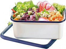 Honey Ware Deep Enamel Food Storage Container with