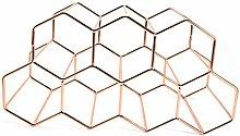 Honeycomb Wine Rack, Multi-Format Design, Wine
