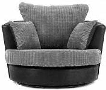 Honeypot - Sofa - Dino - Black/Grey - Brown/Beige