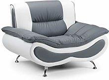 Honeypot - Sofa - Napoli - Faux Leather - Armchair