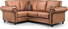 Honeypot- Sofa - Oakland - Faux Leather - 3 Seater