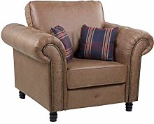 Honeypot - Sofa - Oakland - Faux Leather -