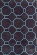 Hong Kong 4338 Charcoal Blue 90x150cm