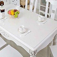 HONG PVC Rectangular Tablecloth, Transparent
