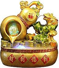 Hong Yi Fei-Shop tabletop fountain Creative Gourd