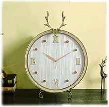hongbanlemp Clock for Desk Table Clock/living