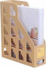 hongbanlemp Desk Organizer Folder Rack Magazine