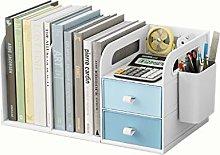 hongbanlemp Desk Organizer White Multi-layer