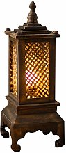 hongbanlemp Table Lamps Bamboo Cage Table Lamp