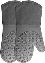 HONGLONG BBQ Gloves,Barbecue Heat-Resistant