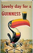 HONGXIN Guinness Toucan Series Metal Signs Warning