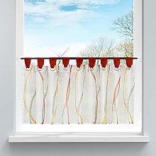 HongYa Net Curtain Transparent Voile Bistro
