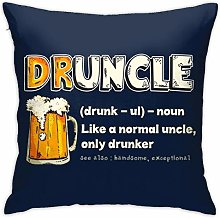 HONGYANW Drunkle Definition Pillowcase,