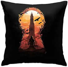 HONGYANW The Dark Tower Pillowcase, Double-sided