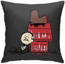 HONGYANW Vito Brown Godfather Peanuts Pillowcase,