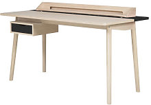 Honoré Desk by Hartô Oak,Slate grey