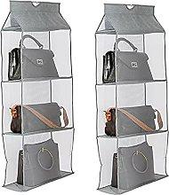 Honton 2 PCS Hanging Storage bags Non-Woven