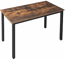 HOOBRO Dining Table, Rectangular Kitchen Table for