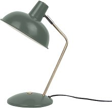 Hood 38cm Desk Lamp Leitmotiv Finish: Green