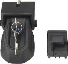 Hood Lock Latch With Keys Anti-theft Hood Catch