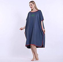 Hooded Poncho Towel Changing Robe, Surf Poncho for