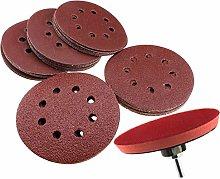 Hook & Loop Disc 125mm Sanding Disc Self Adhesive