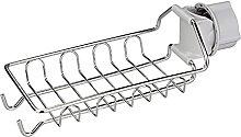 Hooks Kitchen Sink Storage Rack Kitchen Faucet
