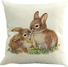 HOOUDO Throw Pillow Case Cushion Covers Decorative